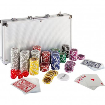 Poker set 300 ks žetónov 1 - 1000 design Ultimate